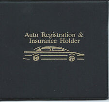 Registration and Insurance Wallet Holder Car Truck Auto