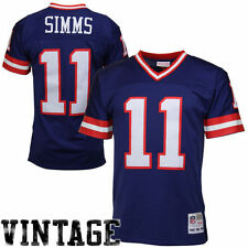 Phil Simms Mitchell & Ness New York Giants Football Jersey - NFL