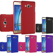 For Samsung Galaxy On5 Rubberized HARD Case Snap On Phone Cover + Screen Guard