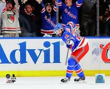 Dominic Moore New York Rangers 2014 NHL Stanley Cup Playoff Photo (Select Size)