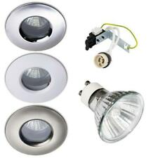 50W HALOGEN IP65 SOFFIT OUTDOOR / BATHROOM SHOWER DOWNLIGHTS GU10 240V