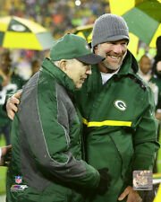 Brett Favre & Bart Starr Green Bay Packers NFL Photo SN135 (Select Size)