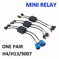 Easy Relay Wiring For H4/H13/9007 Bi-Xenon Hi/Lo HID Kit Harness Controller