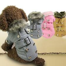 Winter Wear Pet Dog Cat Thick Warm Woollen Coat Jacket Clothes Apparel Costumes