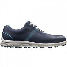 FootJoy Mens Dryjoys Casual Closeout Golf Shoes 53626 – Navy/Carolina - New