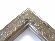 Small Brown Espresso Victorian Wood Ornate Picture Frame-Custom Made Panoramic