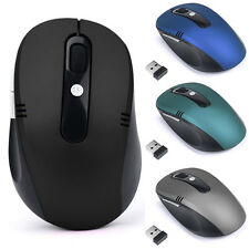 2.4GHz Wireless Pro Gamer Gaming Mouse Mice USB Receiver For PC Laptop Desktop