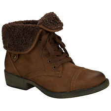 Womens Rocket Dog Tiffany Ankle Boots In Chestnut From Get The Label
