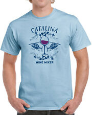 186 Catalina Wine Mixer mens T-shirt funny helicopter party brothers step movie