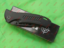 tactical hunting survival military combat army folding knife navy Black knives