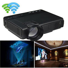 1000Lumen LED Projector Home Theater Cinema USB TV 3D HD 1080P Business VGA/HDMI