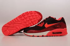 Nike Air Max 90 Deep Bergundy/Hyper Punch-Team Red 325213-610 Women's ALL SIZES