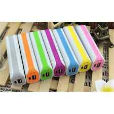 Portable 2600mAh USB External Backup Battery Charger Power Bank For Phones New