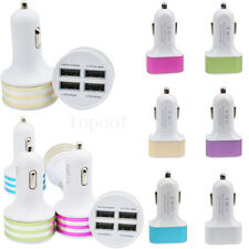 Universal Car 4.1A 12V 4Port USB DC Charger Adapter For iPhone Samsung Phone HOT