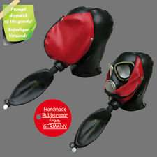Latex Rubber Gas Mask - Latexmaske Gasmaske - Typ: p13
