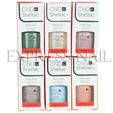 CND SHELLAC UV Gel Polish .25 oz / 7.3 ml Flora and Fauna Spring Collection 2015