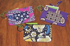 Vera Bradley BOYSENBERRY or SIMPLY VIOLET College School Keys ZIP ID CASE - NWT