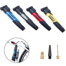 Bicycle Bike Cycle Compact Pump Presta Schrader Valves Tyre Tire Inflator s3