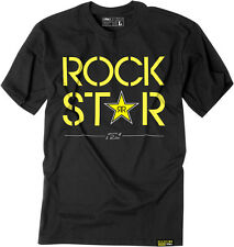 Factory Effex Licensed Rockstar Duplex T-Shirt Black Mens All Sizes