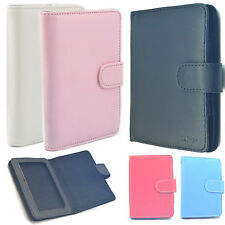 """Leather Carrying Case Cover Skins Pouch For 4"""" 4.3"""" 5"""" 5.2""""MP4 MP5 Ebook Kindle"""