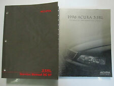 1996 Acura 3.5RL Service Shop Repair Workshop Manual SET FACTORY OEM