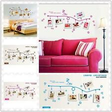 Removable Art Vinyl DIY Photos Wall Sticker Decal Mural Home Room Decor s1