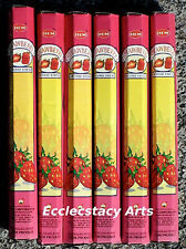 Hem Strawberry Incense 20-40-60-80-100-120 Sticks You Pick Amount {:-)