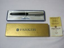 """Parker """"51"""" Special Fountain Pen with Box & Instructions Vintage  T*"""