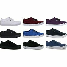 Vans Mens Atwood Lace Up Canvas Everyday Casual Leisure Sports Shoes New