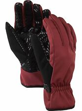 "NEW BURTON MENS SNOWBOARD/SKI ""SOFTSHELL LINER"" GLOVES"