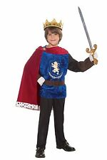 Prince Charming Crusader Knight Medieval Renaissance Child Boys Costume