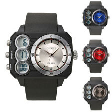 OHSEN Mens Date Military Army Digital Analog Sport Wrist Watch Water Resistant