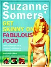 Suzanne Somers' Get Skinny on Fabulous Food by Suzanne Somers (1999, Hardcover)
