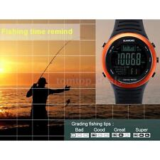 HOT CARP FISHING DIGITAL FISHING WATCH BAROMETER ALTIMETER THERMOMETER Y6O3