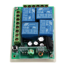 DC 12V 4 Channel RF 315MHz Wireless RF Remote Controller Switch +Receiver Module