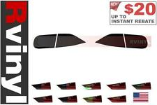 Rtint Tail Light Tint Precut Smoked Film Covers for Buick Lucerne 2006-2011