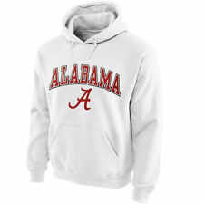 Alabama Crimson Tide Midsize Arch Pullover Hoodie - White - College