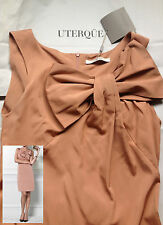 LAST ONE! NWT Shoulder Bow UTERQUE by ZARA dress RRP175€ Size M