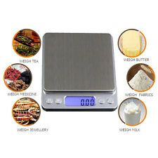 2000g x 0.1g Digital Pocket Gram Scale Jewelry Weight Electronic Balance Scale
