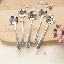 Vogue Utility Stainless Flower Shaped Measuring Spoons Cooking Baking Scoop Cup