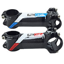 Aluminum   Carbon Fiber MTB Bike Bicycle Cycling Handlebar Stem 31.8mm 60-120mm