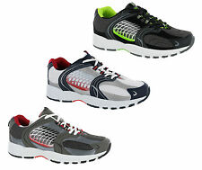 Mercury Lace up Sports Jogging Leisure Casual Mens Trainers Size UK 6-12