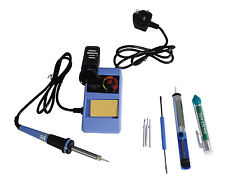 48W Adjustable Temperature Controlled Soldering Station Kit