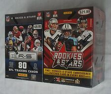 PANINI ROOKIES & STARS 2013 2015 NFL TRADING CARDS BLASTER BOX LOT OF 2 NEW