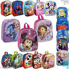 Disney Children Backpack Bag Kindergarden backpack Frozen Cars Minions 25 cm