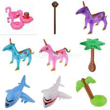 Inflatable Animal Plane Tree Toy Blow Up Toy Kids Swimming Pool Party Decoration