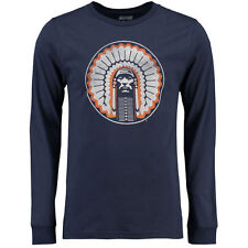 Illinois Fighting Illini Vault Long Sleeve T-Shirt - Navy - College