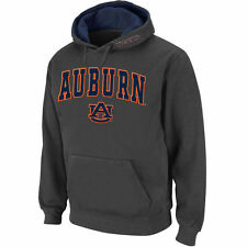Auburn Tigers Stadium Athletic Arch & Logo Pullover Hoodie - Charcoal - College