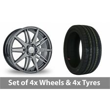 """4 x 19"""" Team Dynamics C1 10 Graphite Alloy Wheel Rims and Tyres -  255/40/19"""