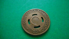 1940 Conestoga Trans. Co. Of Lancaster, Pa. Good For one 1/2 Fare Token